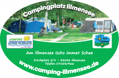 Aufkleber-Camping-Illmensee